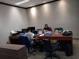 Rent Office Space Equity Tower Sudirman with Full Furnished