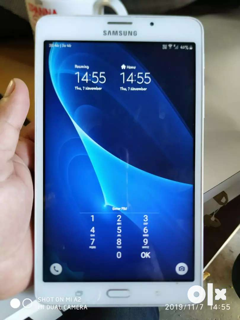 I want to sell my Samsung tab a7 rs 4000 0
