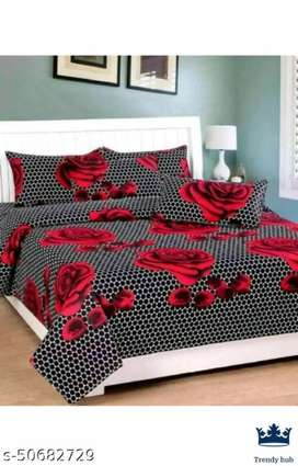 DOUBLE BEAD BEDSHEETS COD ALL OVER INDIA