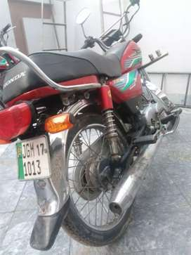 Treet motorcycle is good condition