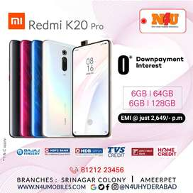 MI K20 pro now available at 0Downpayment & 0%interest at N4U mobiles