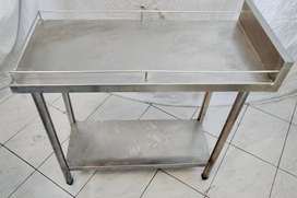 Work table Meja stainless