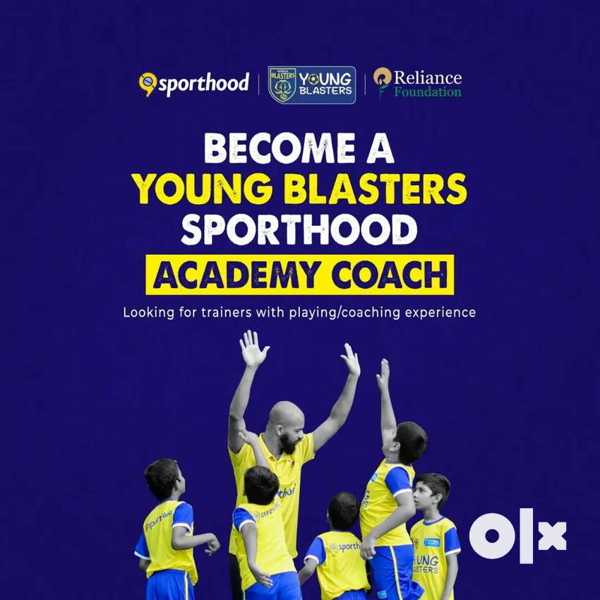 Young blasters Sporthood Academy Coach
