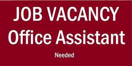 Urgently Needed Computer Operator or Office Assistant