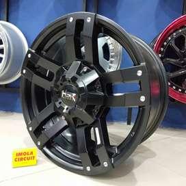 Velg mobil ring 18 HSR wheel r18 cocok untuk pajero gresik murah