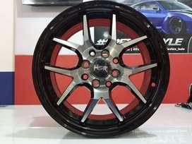 Velg Mobil Racing Tipe HSR HYURA Ring15X65 (Sigra Calya Brio Dll)
