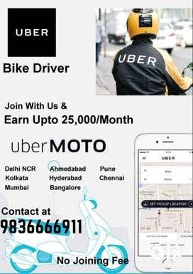 uber bike diver