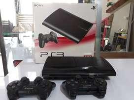 PS3 SUPERSLIM 160gb 2stik