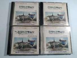 Kaset CD original Korean traditional music