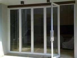 Kusen pintu aluminium dan kaca