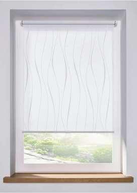 Tirai jendela kamar roller blind apartemen/kantor murah jakarta