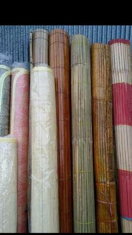 Jual Tirai Kulit Bambu, tikar rotan