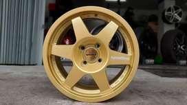 Velg murah speedline ring15x7.0 h4x100 et40 on mobilio swift