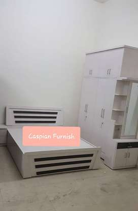 329 New XL Storage bedroom set