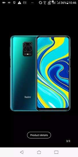 Redmi note 9 pro 4/64 blue