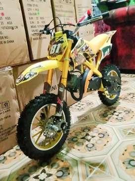 Motor mini trail mt2 50cc 2tak