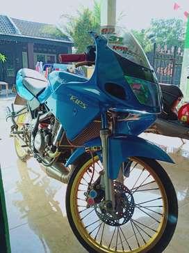 Ninja RR old biru