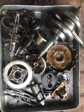 Engine parts genuine honda 125