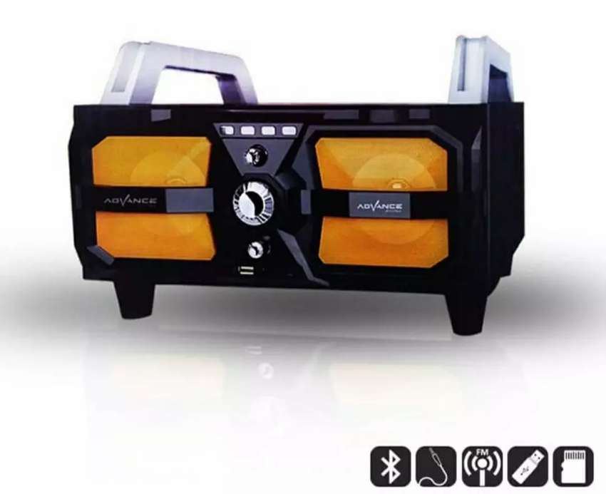 ADVANCE M330BT (speaker aktif bluetooth,ada colokan mic) 0