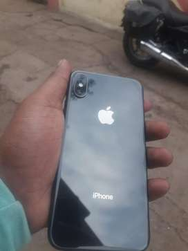 Iphone x 64GB one hand use