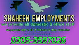 We offer jobs for maids..