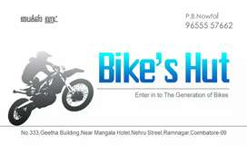 Bike technican in gandipuram  99439722 one 2