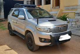 Fully loaded Toyota fortuner