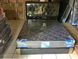 1 paket kasur busa central fom + divan sandaran 160 x 200 cm siap COD