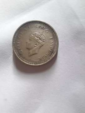 Rupe or Chandir one rupee 1942