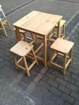 Set meja resto cafe kedai