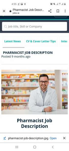 Category A Pharmacist