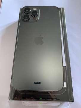 Iphone 12 pro max 128 graphite baru 2 minggu
