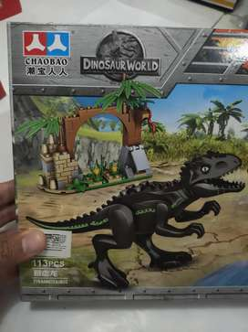 Mainan anak dino lego dinosurus