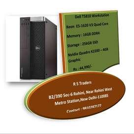 Dell T5810 Workstation :- Xeon E5-1620 V3/Quad Core/16GB Ram DDR4_