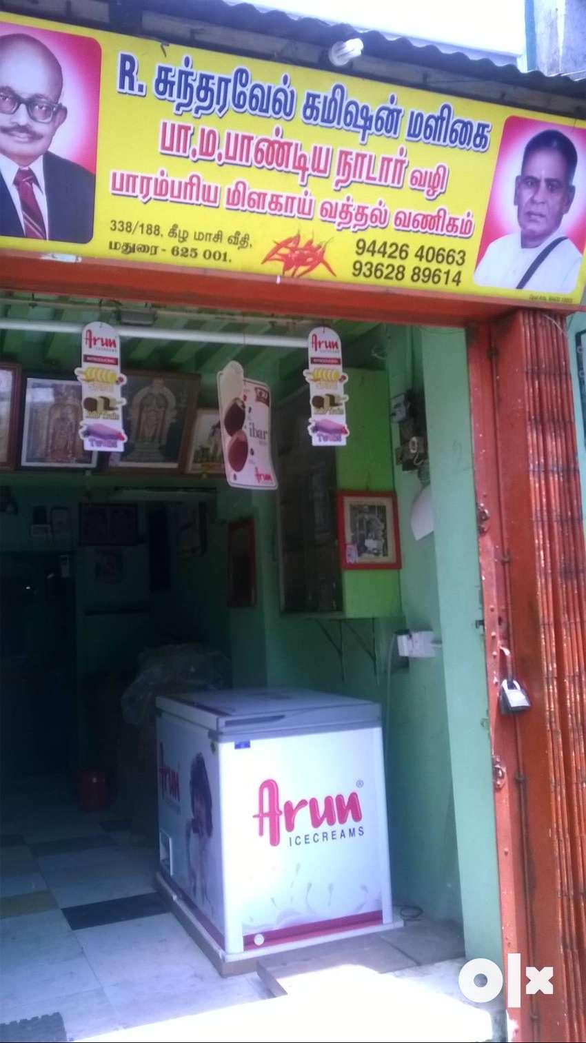 304 sqft commercial shop in mdu food grain bazaar 0