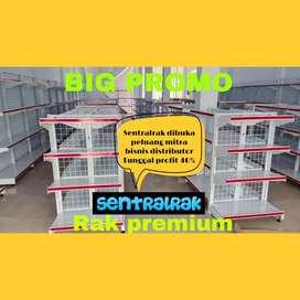 rak gondola rak perlengkapan toko swalayan minimarket
