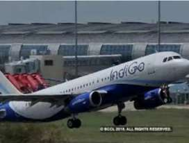 Urgent hiring manager or supervisor in indigo airlines
