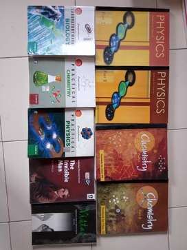 Class 12th science books