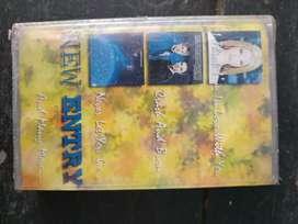 1 cassette New Entry masih segel baru.