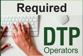 Freelancer or PT.DTP coral draw oprater  marathi Hindi typing require