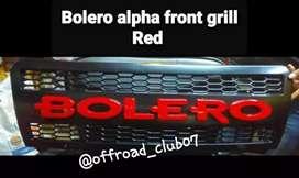 bolero front grill