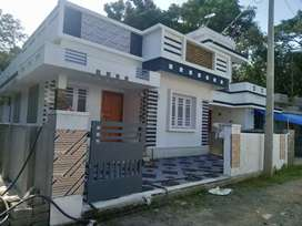 Ready to occupy 3 bhk 900sqft at varapuzha near puthiya road