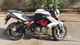 Benelli 600i with ABS white colour, 1st owner, single handed