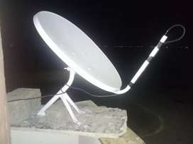 2ft indian dish with LNB