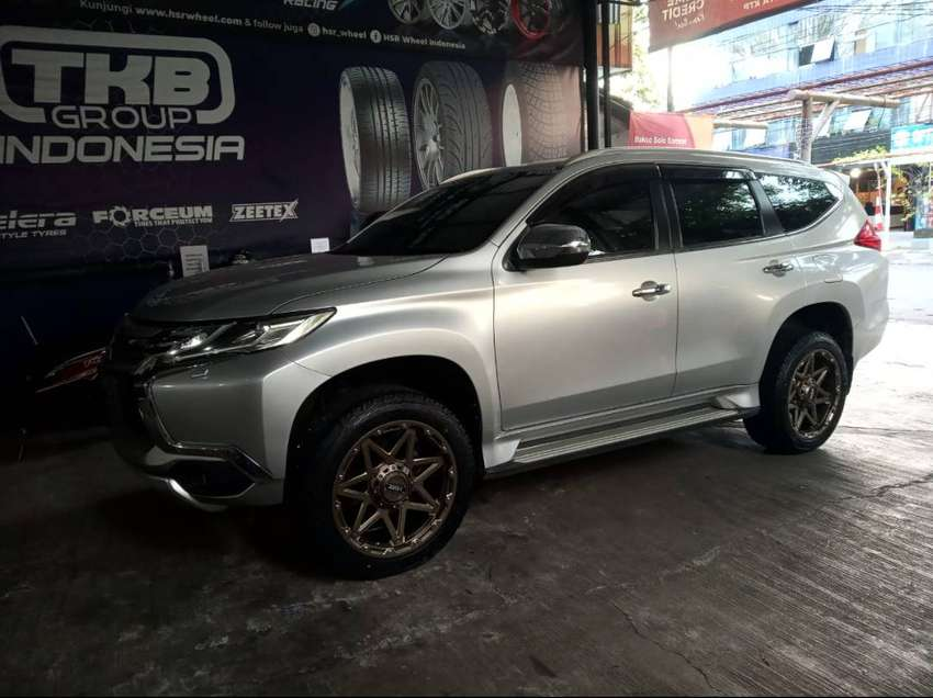 modifikasi Pajero use Bangil r20×9,5 h6×139,7 0