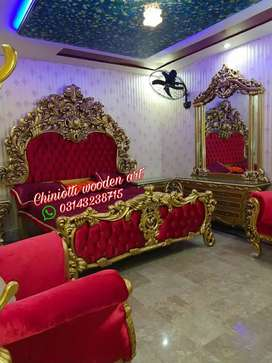 Chiniotti luxury king size bed