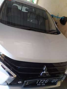 Xpander exceed m/t silver 2018