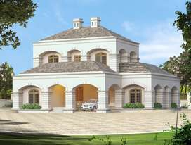 Newly Built House with Colonial style Design 3000SQFT Area
