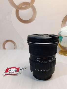 Lensa wide Tokina 11 - 16 f2.8 for Canon