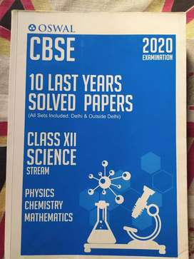 Class-12 Solved 10years Previous papers